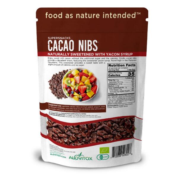Cacao nibs with yacon 8oz 03