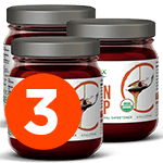 3 Jars (8oz X 3)