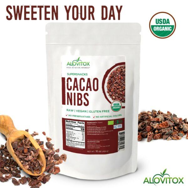 Cacao nibs 16oz 06