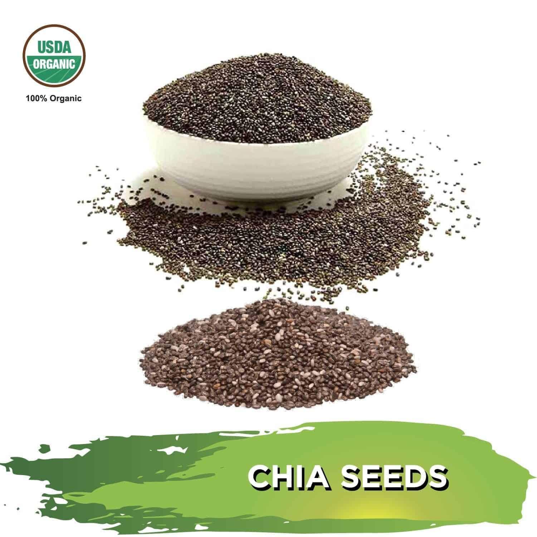 Organic Chia Seeds – 5lbs