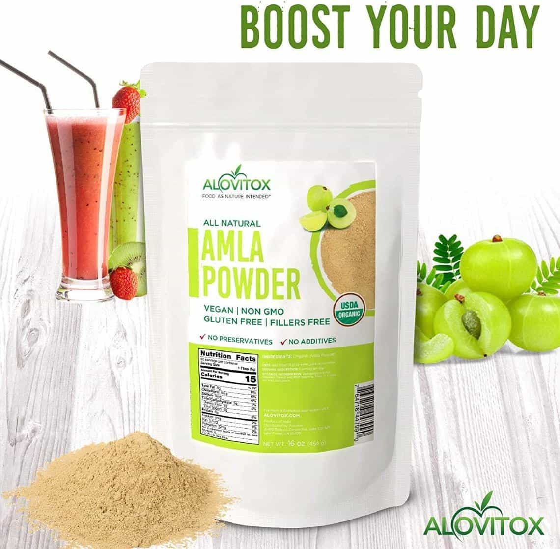 Organic Amla Berry Powder