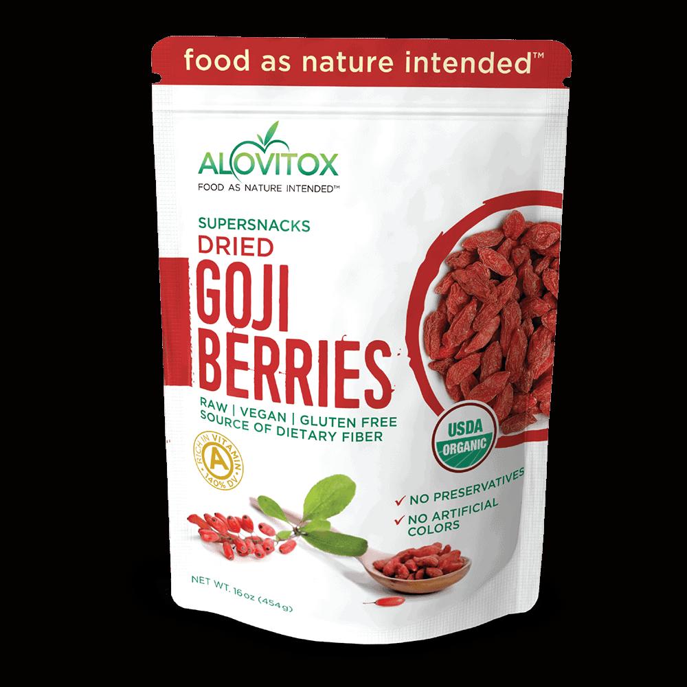Organic Goji Berries Alovitox Goji Berries
