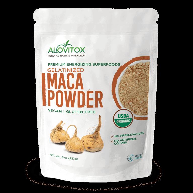 Organic Maca Gelatinized Powder