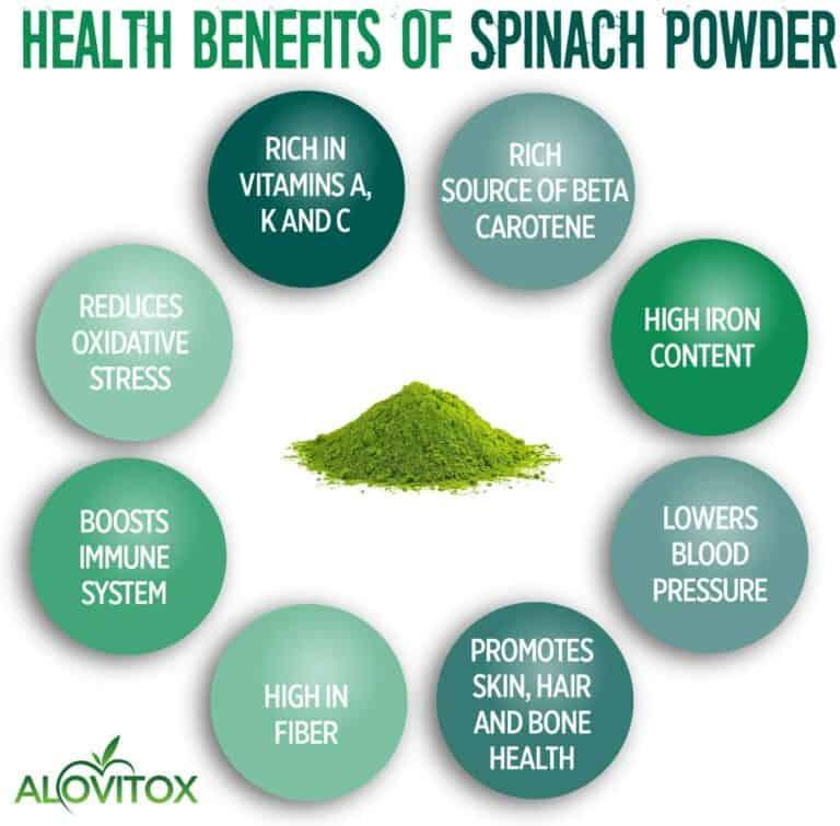 Spinach Powder Health Benefits