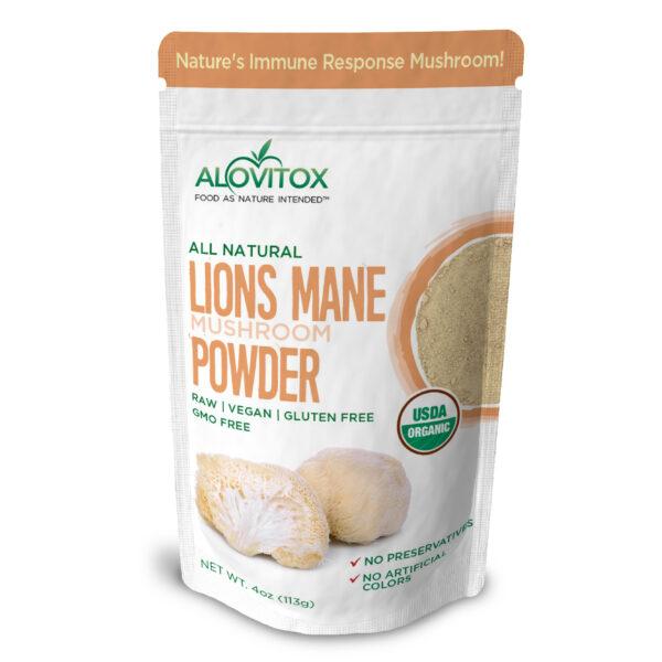 Lions Mane Powder 4oz 02a 1