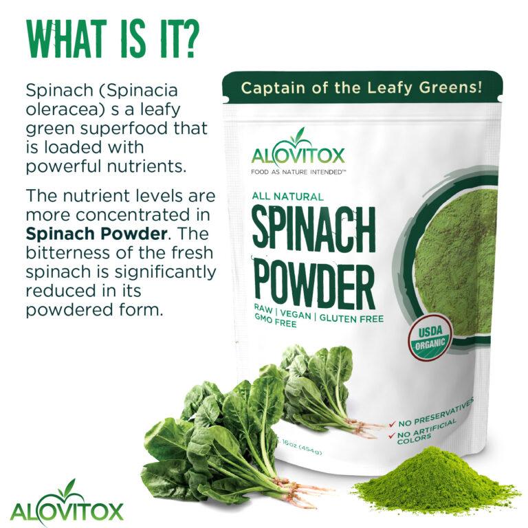 Spinach Powder 16oz 05a
