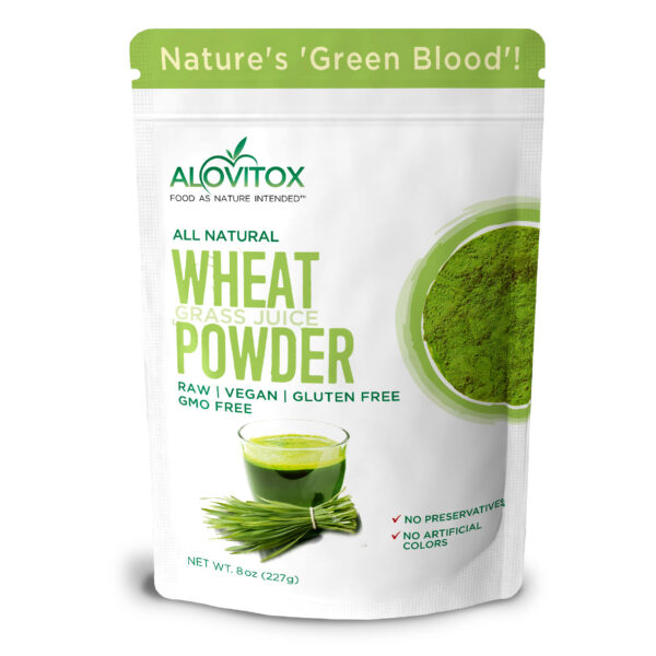 wheat grass juice powder 8oz 03a