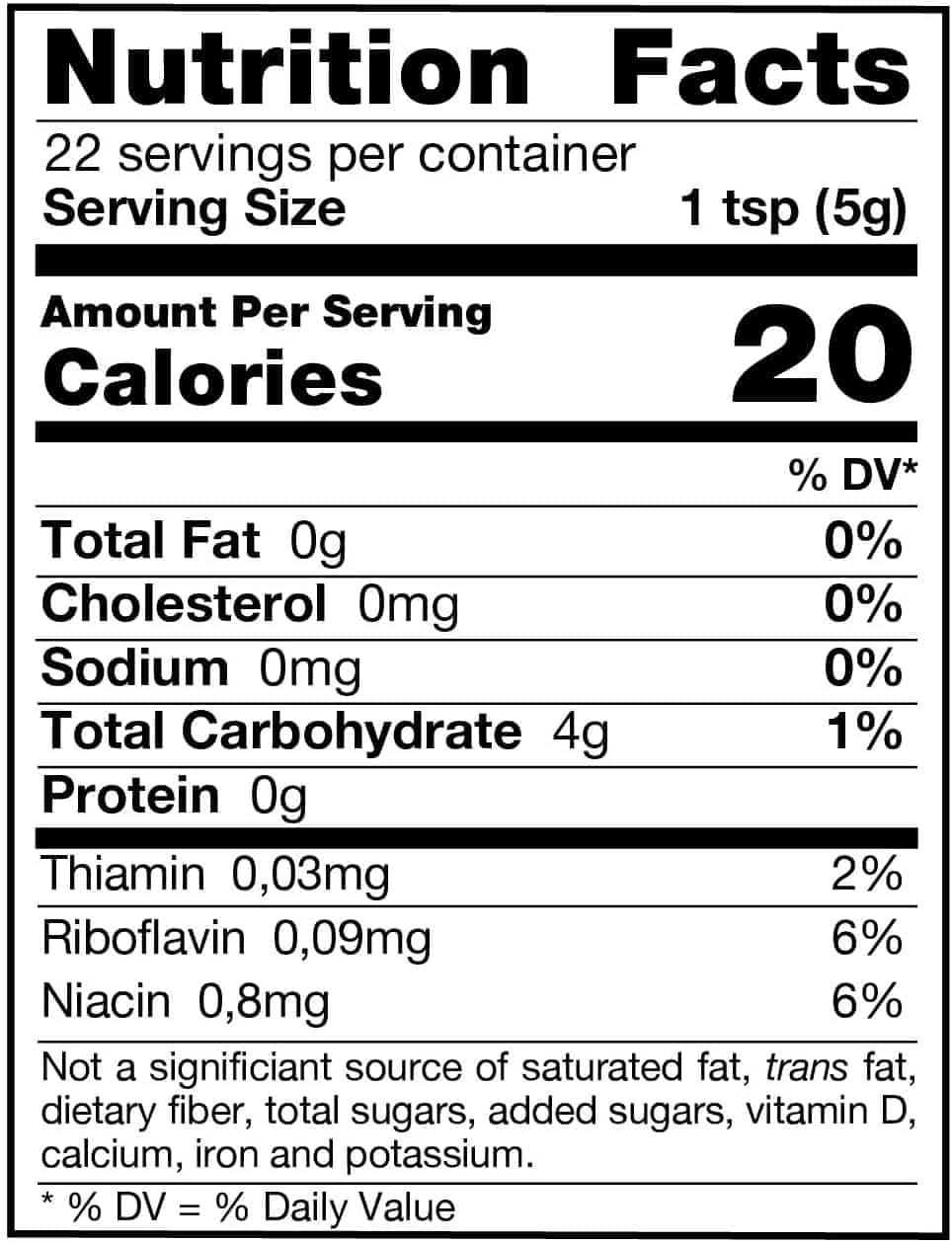 Chaga Mushroom Powder Nutrition