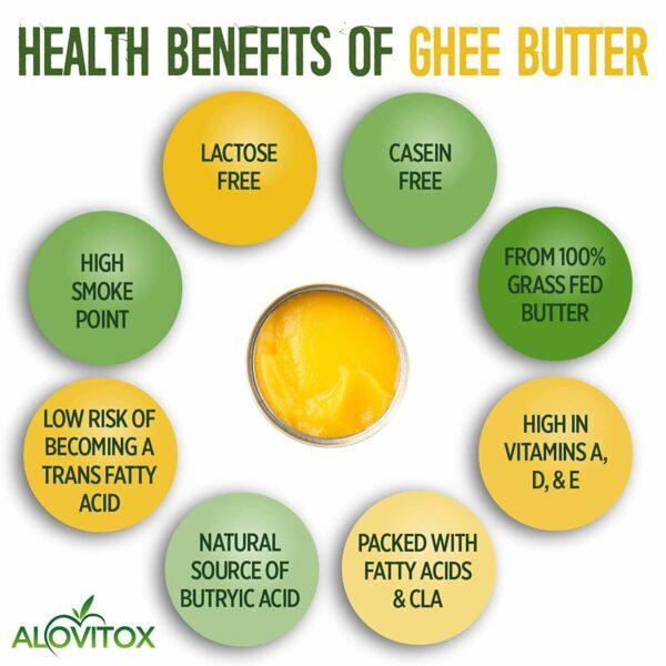 Grass-Fed Organic Ghee Butter