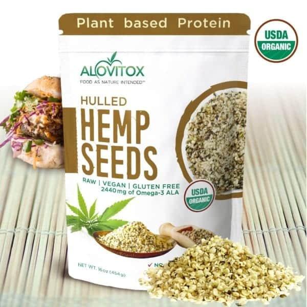 Organic Hulled Hemp Seeds
