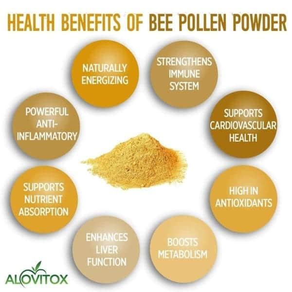 Organic Bee Pollen Powder