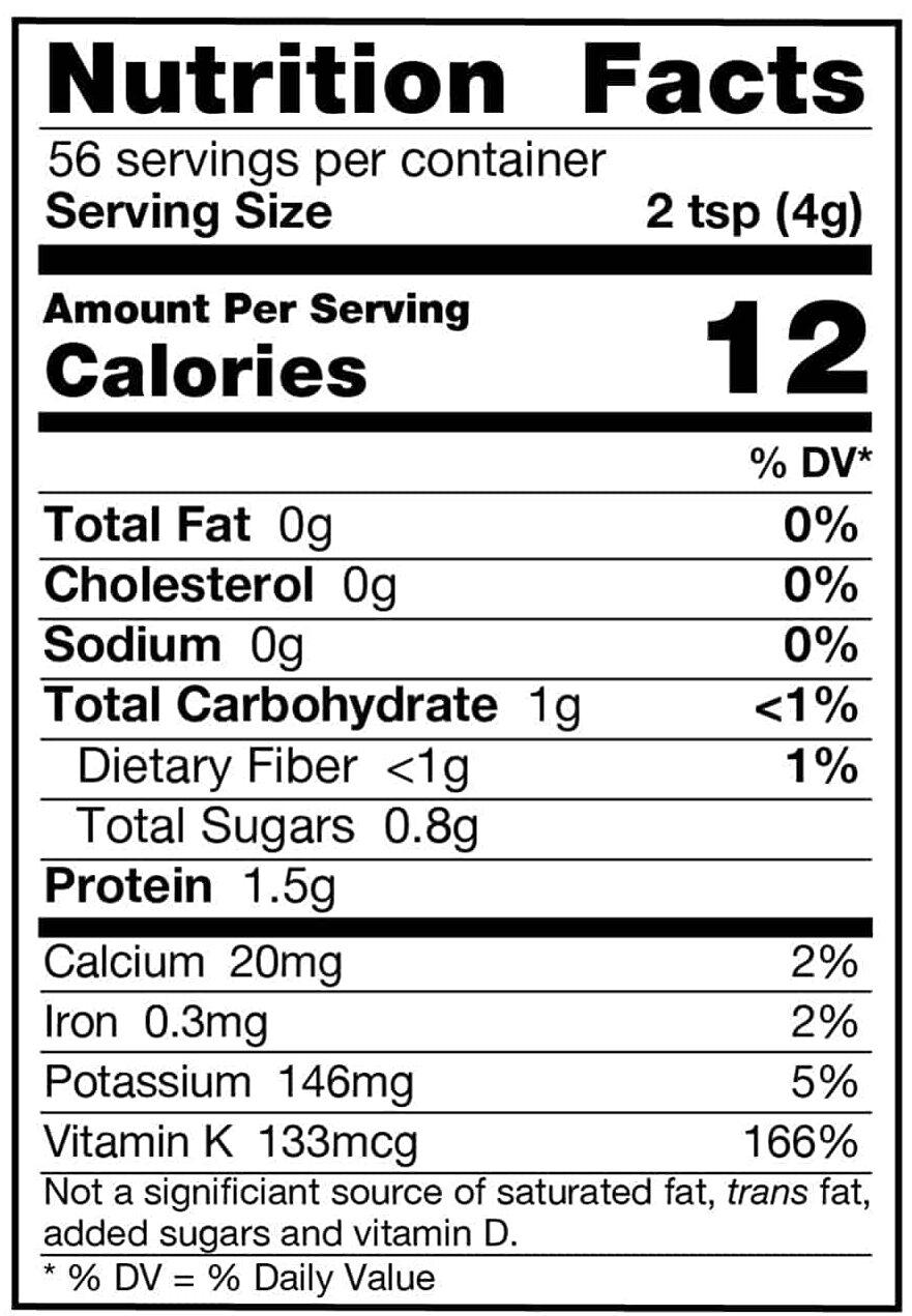 Barley Grass Juice Powder