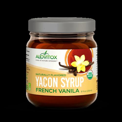 yacon syrup vanilla 8floz